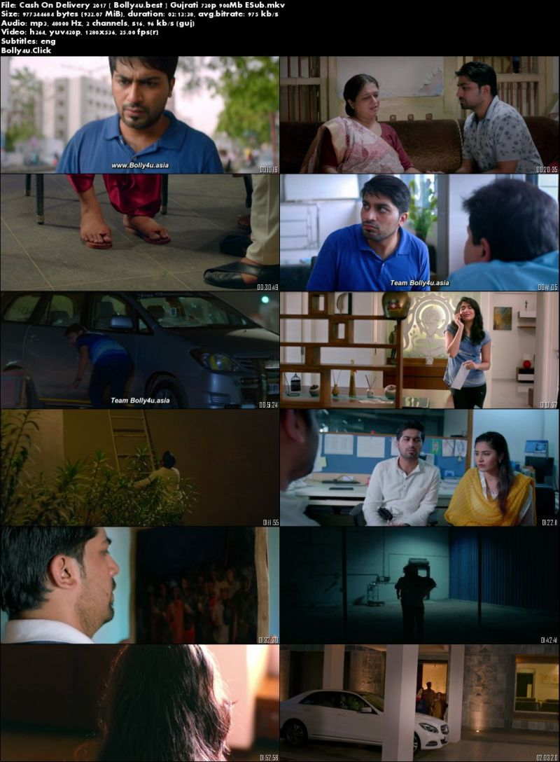 Cash On Delivery 2017 WEB-DL 900Mb Gujrati 720p ESub Download