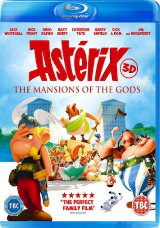Asterix And Obelix Mansion Of The Gods 2014 BRRip 300Mb Hindi Dual Audio 480p Watch Online Full Movie Download bolly4u