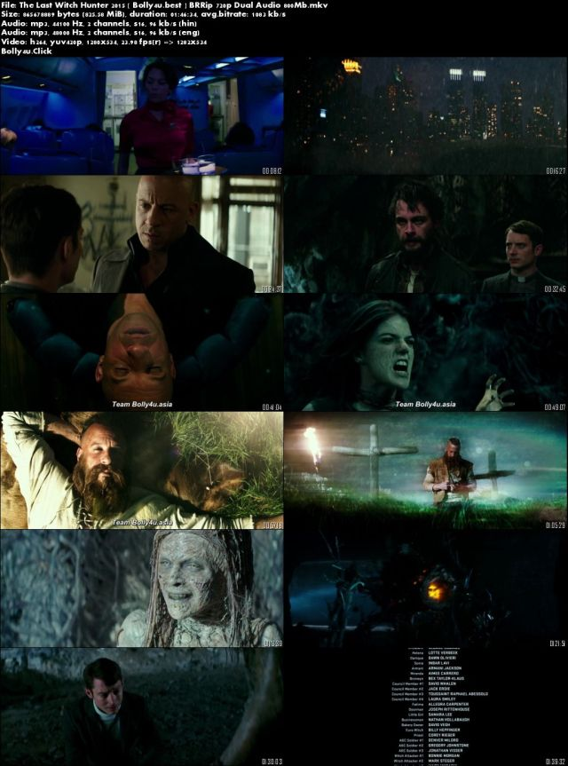The Last Witch Hunter 2015 BluRay 800Mb Hindi Dual Audio 720p Download