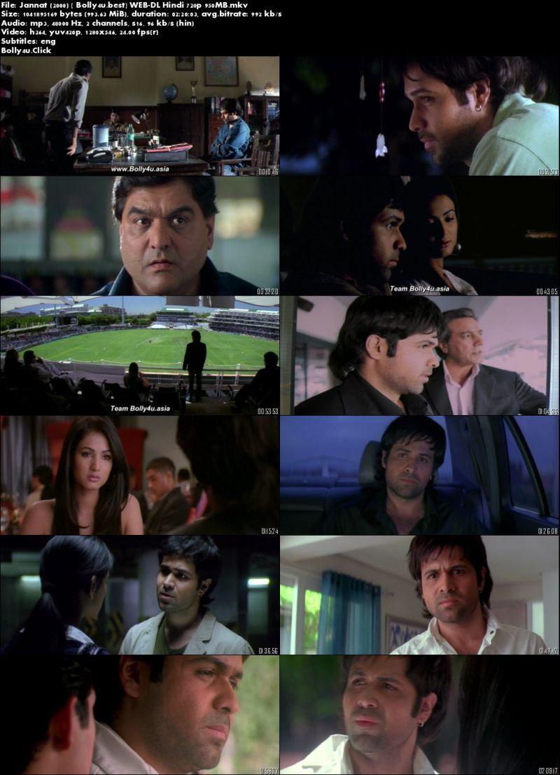 Jannat 2008 WEB-DL 950Mb Full Hindi Movie Download 720p