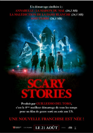 Scary Stories to Tell in the Dark 2019 HDRip 850MB English 720p ESubs Watch Online Full Movie Download bolly4u