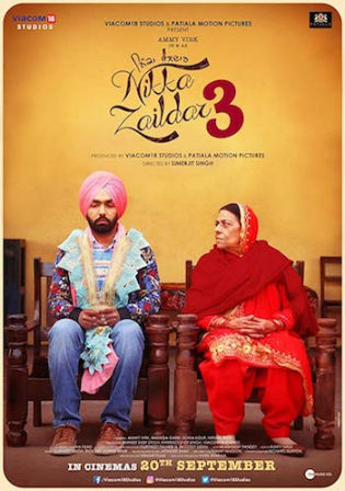 Nikka Zaildar 3 2019 WEB-DL 300Mb Punjabi 480p Watch Online Full Movie Download bolly4u