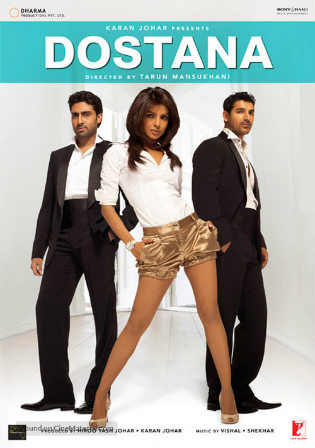 Dostana 2008 BluRay 400Mb Full Hindi Movie Download 480p Watch Online Free bolly4u