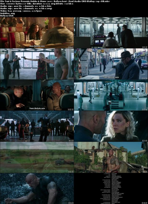 Fast And Furious Presents Hobbs And Shaw 2019 BRRip 1GB Hindi Dual Audio ORG 720p Download