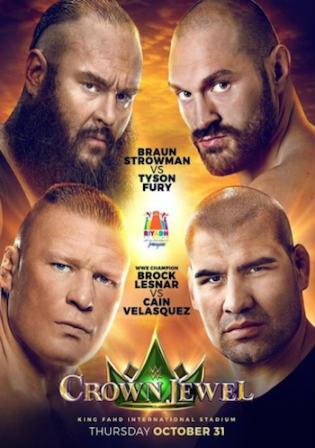 WWE Crown Jewel 2019 PPV 650Mb WEBRip 480p Watch Online Free Download bolly4u