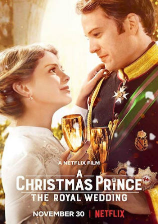 A Christmas Prince The Royal Wedding 2018 BluRay 300Mb Hindi Dual Audio 480p Watch Online Full Movie Download bolly4u