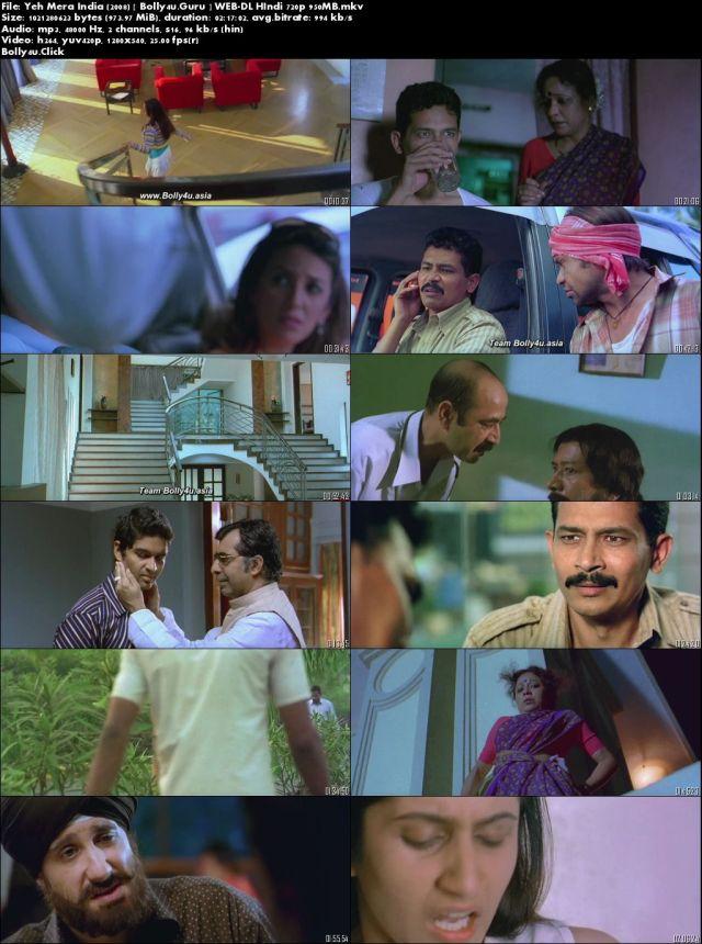 Yeh Mera India 2008 WEB-DL 400MB Hindi 480p Download