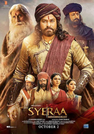 Sye Raa Narasimha Reddy 2019 HDRip 1.1GB Hindi 720p Watch Online Full Movie Download bolly4u