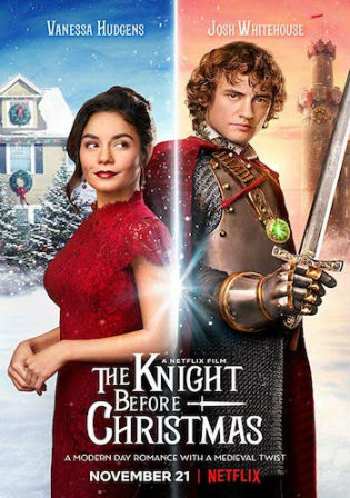 The Knight Before Christmas 2019 WEBRip 950Mb Hindi Dual Audio 720p Watch Online Full Movie Download bolly4u