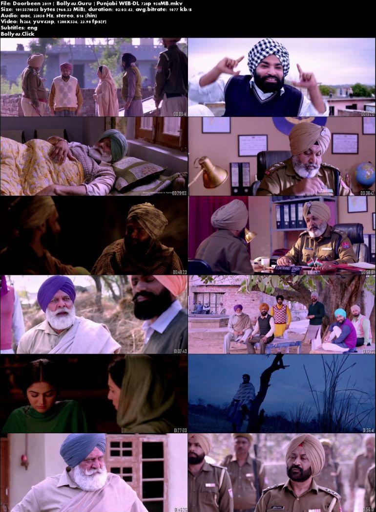 Doorbeen 2019 WEB-DL 300MB Full Punjabi Movie Download 480p