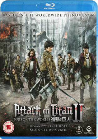 Attack On Titan 2 2015 BluRay 950Mb Hindi Dual Audio ESub Watch Online Full Movie Download bolly4u