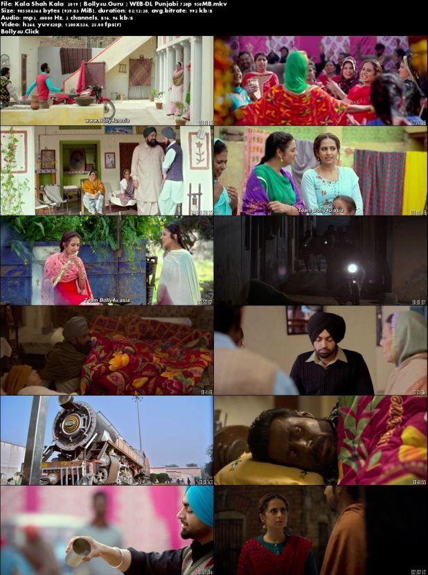 Kala Shah Kala 2019 WEB-DL 950Mb Full Punjabi Movie Download 720p