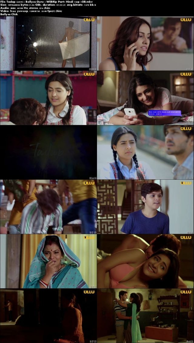 Tadap 2019 WEBRip 1GB Hindi WEB Series Part 1 Download 720p