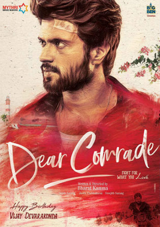 Dear Comrade 2019 HDRip 500MB Hindi Dual Audio 480p Watch Online Full Movie Download bolly4u