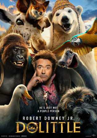 Dolittle 2019 HDRip 700MB Hindi Dual Audio 720p Watch Online Full Movie Download bolly4u