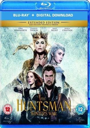 The Huntsman Winters War 2016 BRRip 900Mb Hindi Dual Audio Extended 720p Watch Online Full Movie Download bolly4u