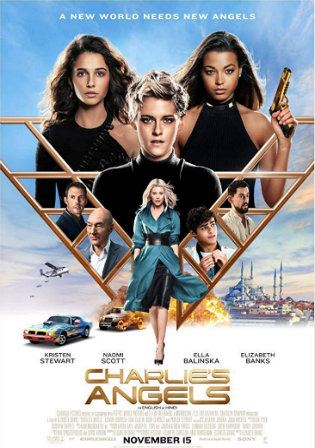 Charlies Angels 2019 HDRip 300Mb English 480p ESub Watch Online Full Movie Download bolly4u