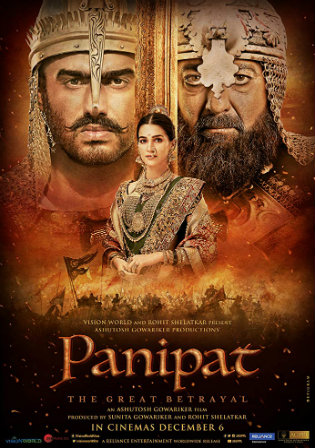 Panipat The Great Betrayal 2019 WEBRip 1.1GB Hindi Movie Download 720p Watch Online Free bolly4u