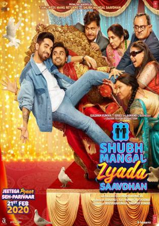 Shubh Mangal Zyada Saavdhan 2020 Pre DVDRip 1.1GB Hindi 720p Watch Online Full Movie Download bolly4u