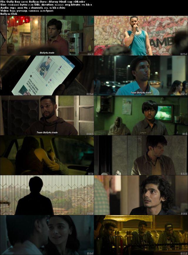 Gully Boy 2019 BluRay 1GB Full Hindi Movie Download 720p