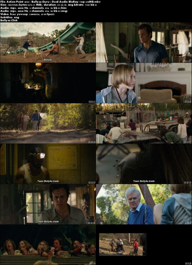 Action Point 2018 BluRay 650MB Hindi Dual Audio 720p Download