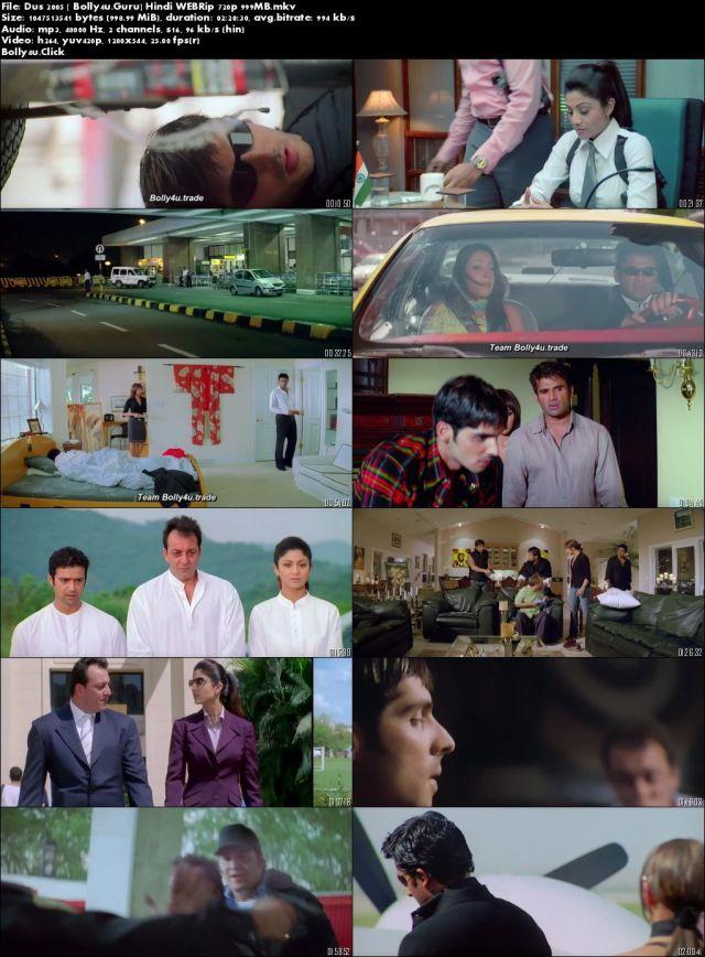 Dus 2005 WEBRip 400MB Full Hindi Movie Download 480p