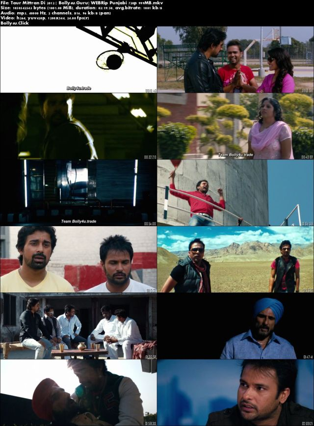 Taur Mittran Di 2012 WEBRip 400Mb Punjabi 480p Download