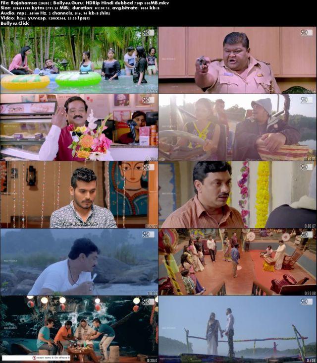 Rajahamsa 2020 HDRip 800Mb Hindi Dubbed 720p Download