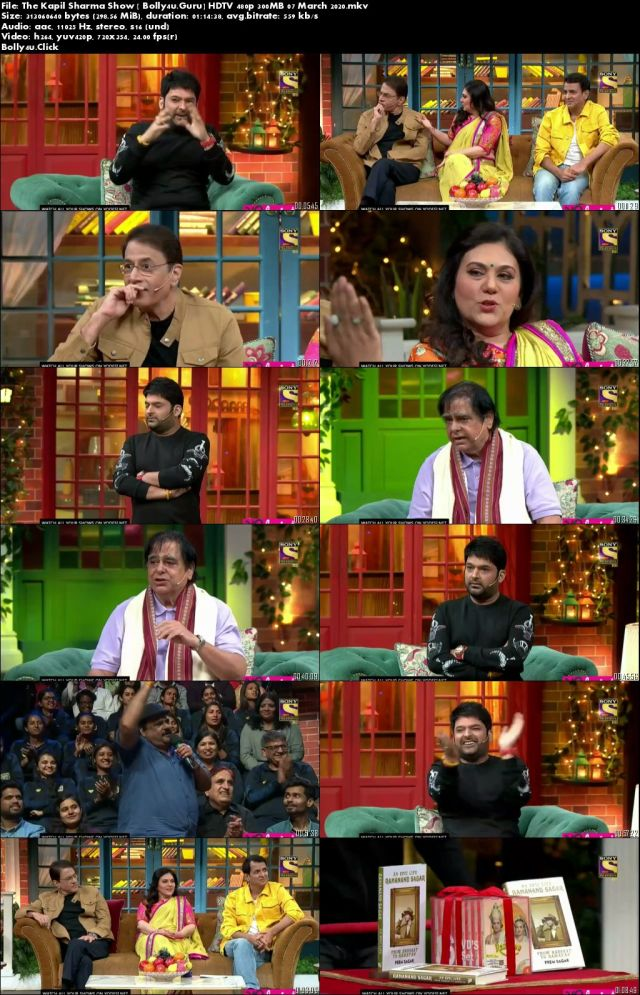 The Kapil Sharma Show HDTV 480p 300MB 07 March 2020 download