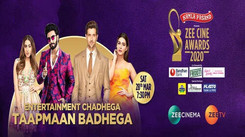 Zee Cine Awards 2020 HDTV Main Event 480p 500MB watch Online Full Show Download Bolly4u