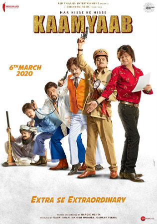 Kaamyaab 2020 WEBRip 400Mb Hindi 480p Watch Online Full Movie Download bolly4u