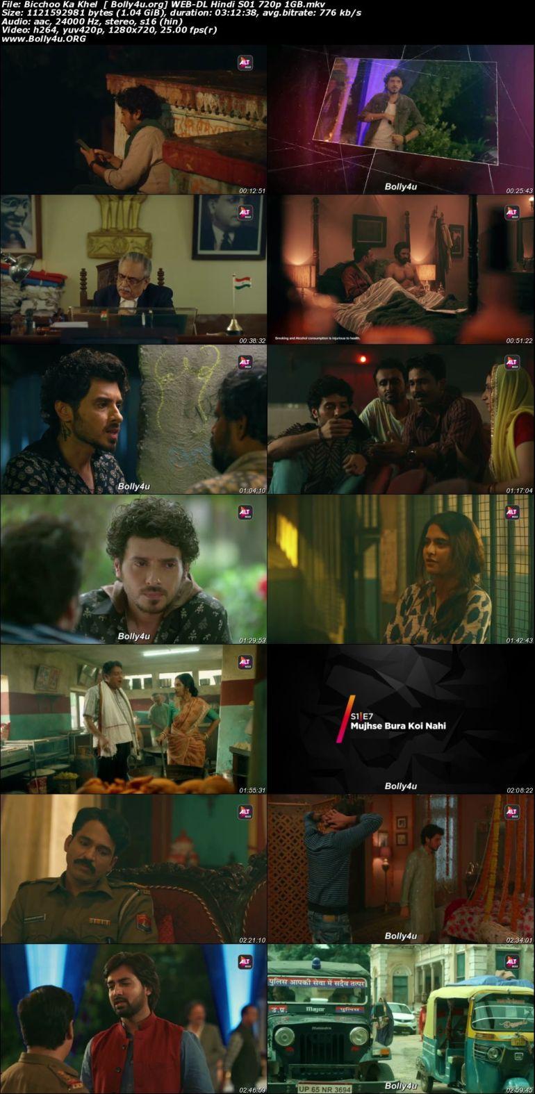Bicchoo Ka Khel 2020 WEB-DL 1GB Hindi S01 Download 720p Download