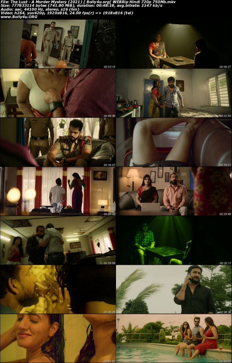 The Lust A Murder Mystery 2021 WEBRip 750Mb Hindi 720p Download