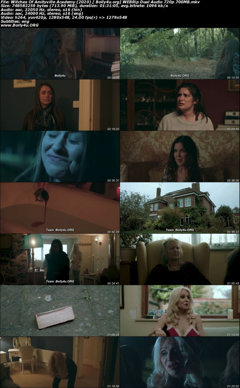 Witches Of Amityville Academy 2020 WEBRip 300Mb Hindi Dual Audio 480p Download