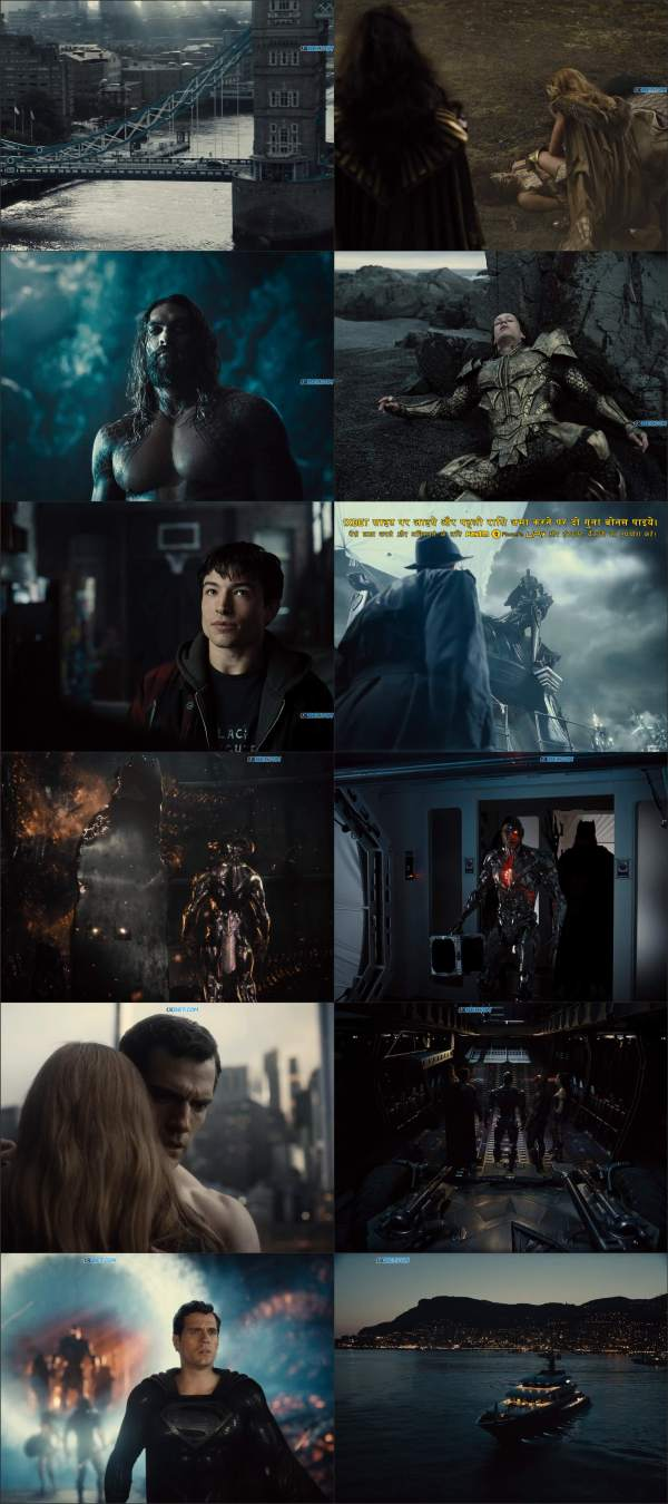 Download Justice League Snyder Cut 2021 Hindi HDRip Full Movie