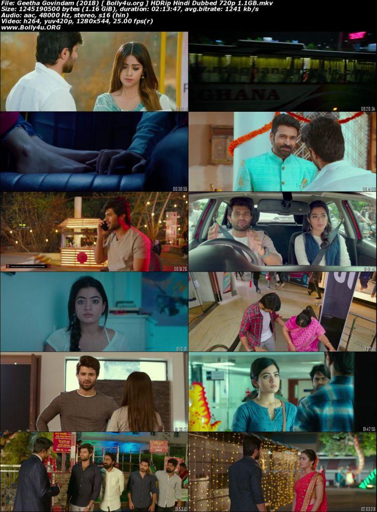 Geetha Govindam 2018 HDRip 950Mb Hindi Dubbed 720p Download