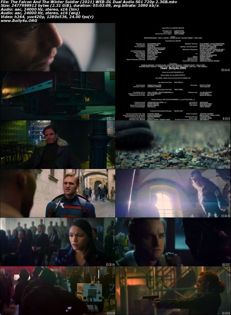 The Falcon And The Winter Soldier 2021 WEB-DL 999Mb Hindi Dual Audio S01 Download 480p