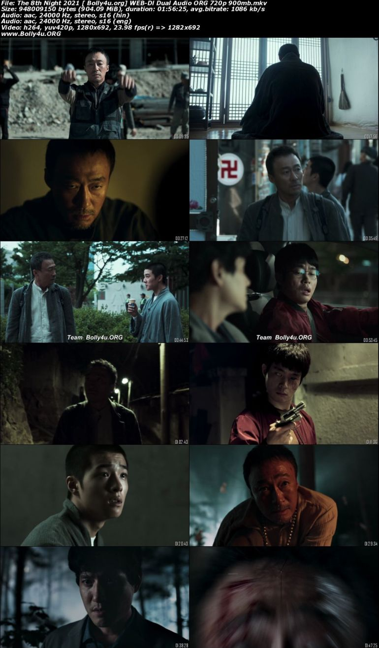 The 8th Night 2021 WEB-DL 900Mb Hindi Dual Audio ORG 720p Download