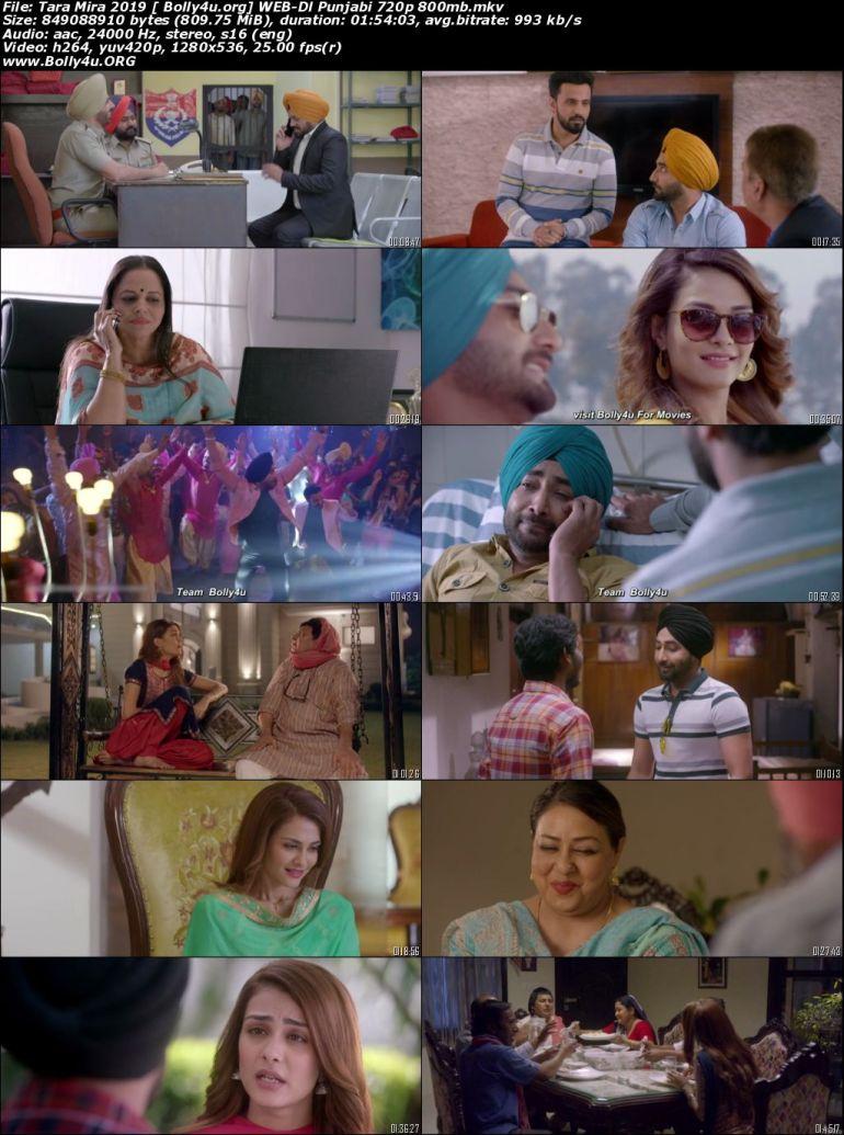 Tara Mira 2019 WEB-DL 800Mb Punjabi Movie Download 720p