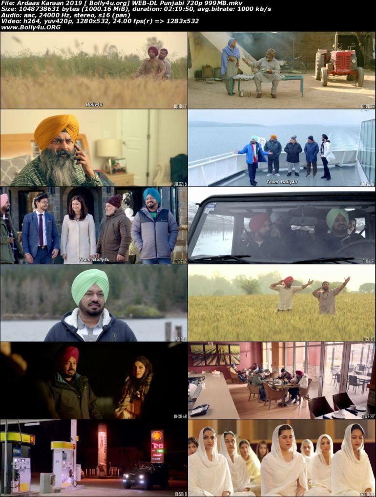 Ardaas Karaan 2019 WEB-DL 999Mb Punjabi Movie Download 720p