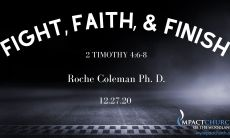 Fight Finish & Faith