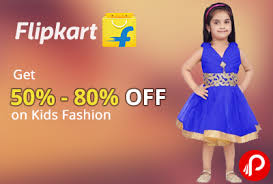 Flipkart Kids Clothing Offer