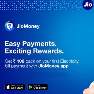 JioMoney App Electricity Payment