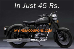 Royal Enfield Classic Vodafone Delight Offer