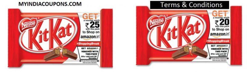 KitKat Amazon Gift Voucher