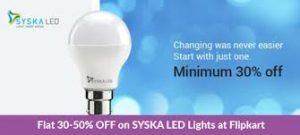 Flipkart LED Bulbs Offer
