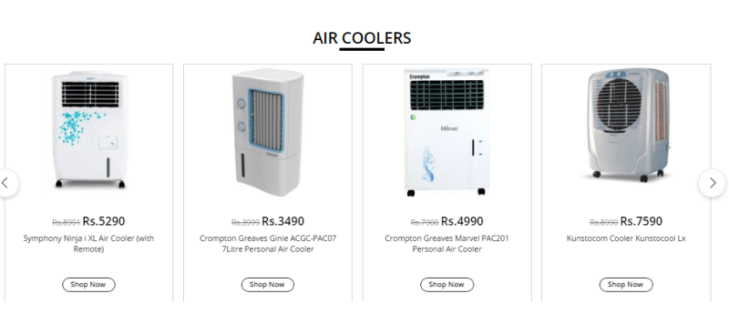 Shopclues Air Coolers Offers