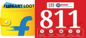 Kotak 811 Flipkart Offer
