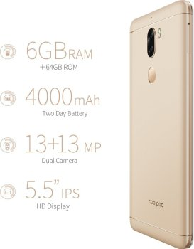 Coolpad Cool Play 6 By Side