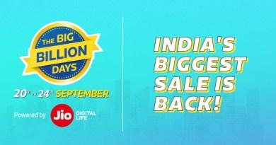Flipkart Big Billion Days Sale || Get 10% Off On SBI Card {20th-24th Sep, 2017}